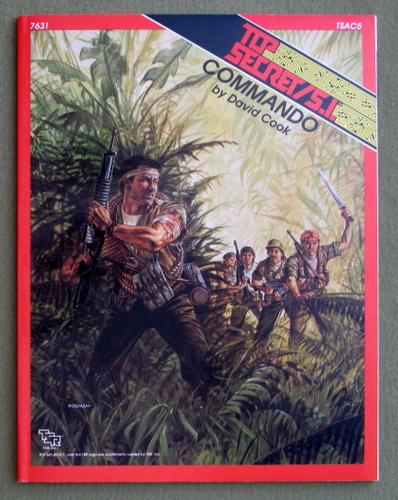 Commando (Top Secret/S.I. Accessory TSAC5), David Cook