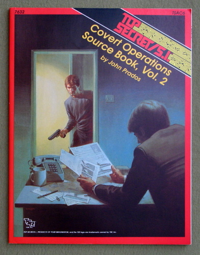 Covert Operations Source Book, Vol. 2 (Top Secret/S.I. Accessory TSAC6), John Prados