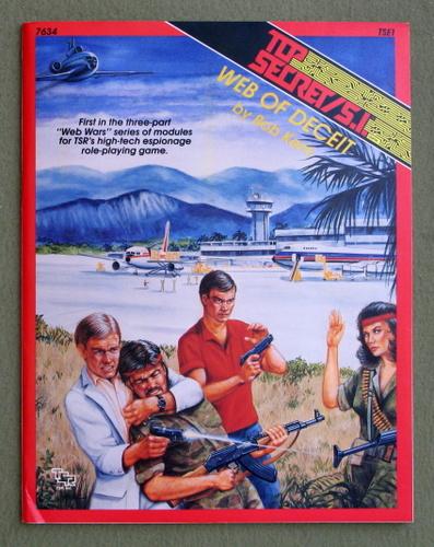Web of Deceit (Top Secret SI Adventure TSE1), Bob Kern