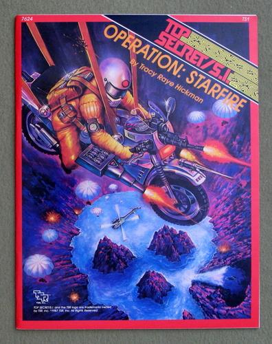 Operation: Starfire (Top Secret SI module TS1), Tracy Raye Hickman