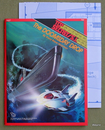 The Doomsday Drop (Top Secret/S.I. Module TS2), Tracy Raye Hickman