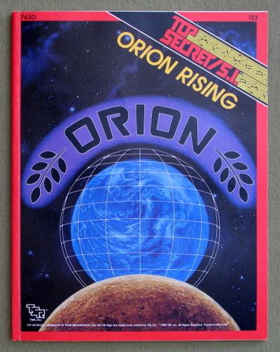 Orion Rising (Top Secret/S.I. Accessory TS3)