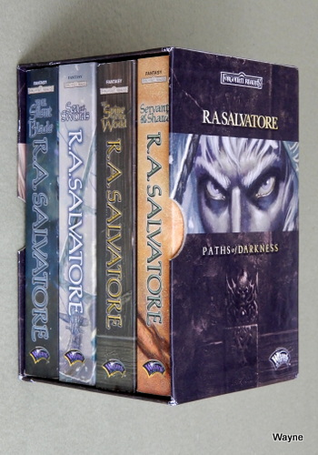 Paths of Darkness Gift Set (v. 1-4), R.A. Salvatore
