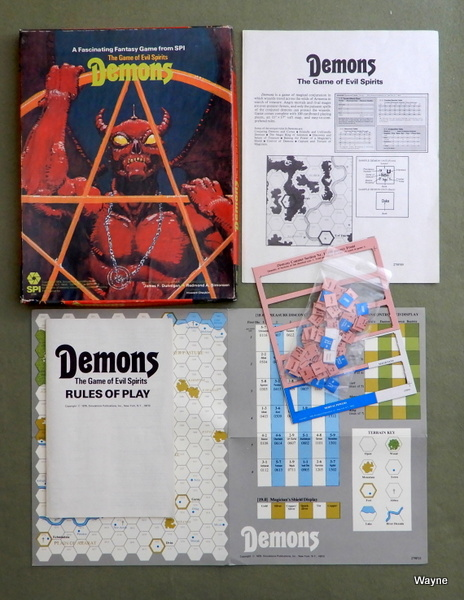 Demons: The Game of Evil Spirits, James F. Dunnigan
