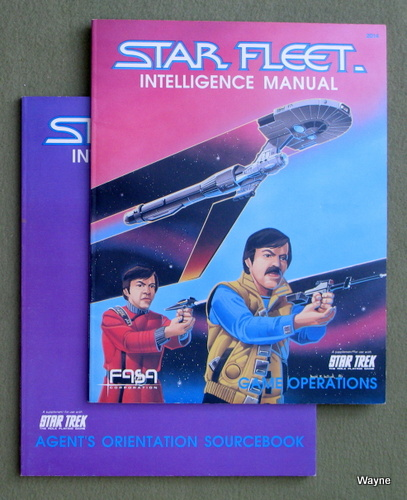 Star Fleet Intelligence Manual (Agent's Orientation / Game Operations) [2 BOOK SET], John A. Theisen
