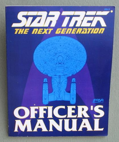 Star Trek: The Next Generation: Officer's Manual, Rick Stuart & John Terra