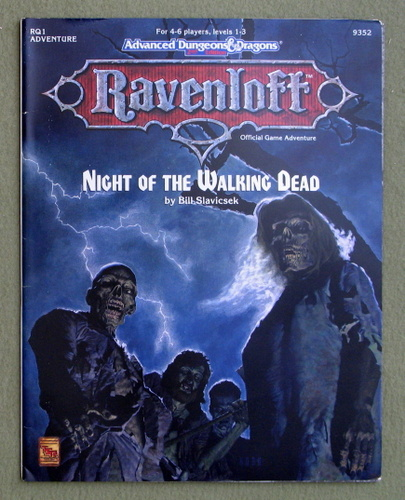 Night of the Walking Dead (Advanced Dungeons & Dragons, 2nd Edition: Ravenloft Adventure RQ1), Bill Slavicsek