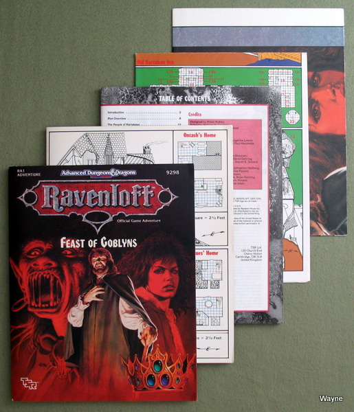 Feast of Goblyns (Advanced Dungeons & Dragons/Ravenloft Module RA1), Blake Mobley