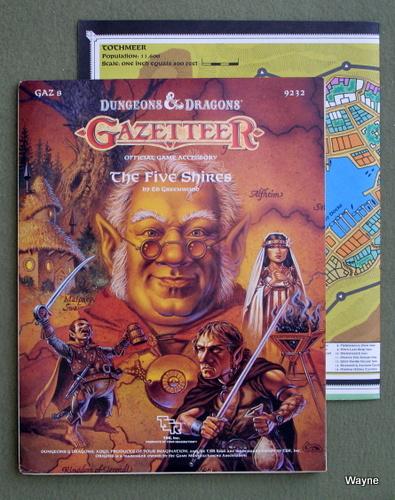 Five Shires (Dungeons & Dragons Gazetteer GAZ8), Ed Greenwood