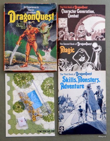 DragonQuest - 1st Edition - PLAY SET, Eric Goldberg & Redmond A Simonsen & James Sherman & David J. Ritchie
