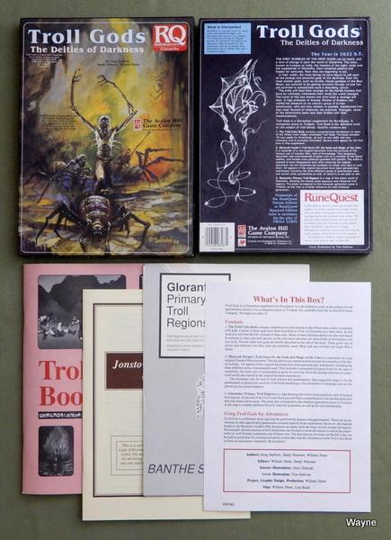 Troll Gods: The Deities of Darkness (Runequest), Greg Stafford & Sandy Petersen & William Dunn