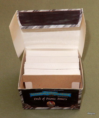 Deck of Psionic Powers (Advanced Dungeons & Dragons, 2nd Edition)