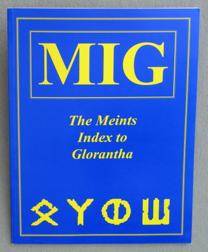 Meints Index to Glorantha, Richard J. Meints