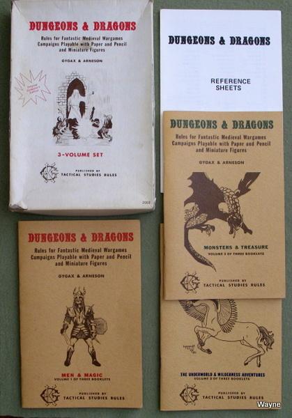 Dungeons & Dragons (OCE White Box), Gary Gygax & Dave Arneson