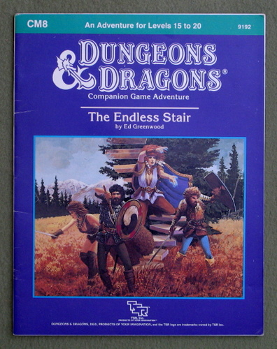 The Endless Stair (Dungeons and Dragons Module CM8), Ed Greenwood