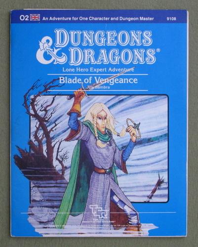 Blade of Vengeance (Dungeons & Dragons module O2), Jim Bambra