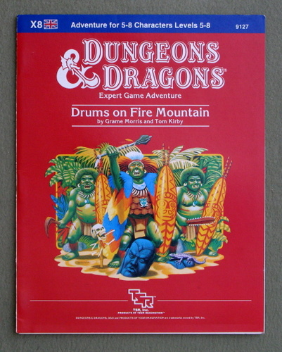 Drums on Fire Mountain (Dungeons and Dragons Module X8), Graeme Morris & Tom Kirby