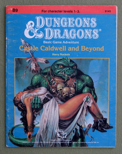 Castle Caldwell and Beyond (Dungeons & Dragons Module B9) - PLAY COPY, Harry Nuckols & Clyde Caldwell