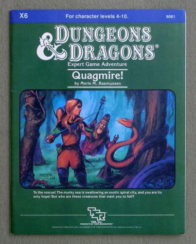Quagmire! (Dungeons & Dragons Module X6), Merle M. Rasmussen