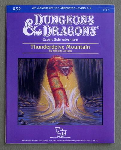 Thunderdelve Mountain (Dungeons & Dragons Module XS2), William Carlson