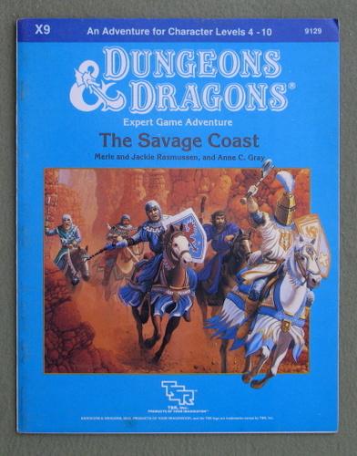 The Savage Coast (Dungeons & Dragons Module X9), Merle & Jackie Rasmussen & Anne C. Gray