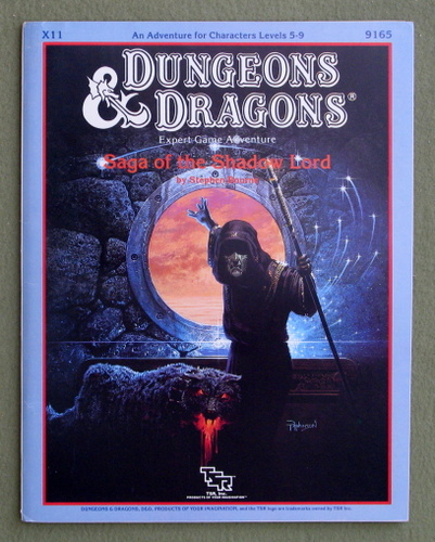 Saga of the Shadow Lord (Dungeons & Dragons Module X11), Stephen Bourne