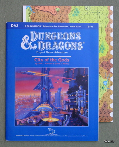 City of the Gods (Dungeons and Dragons: Blackmoor Module DA3), Dave L. Arneson & David J. Ritchie