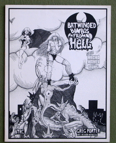 Batwinged Bimbos From Hell (Macho Women With Guns), Greg Porter & Richard Menustik