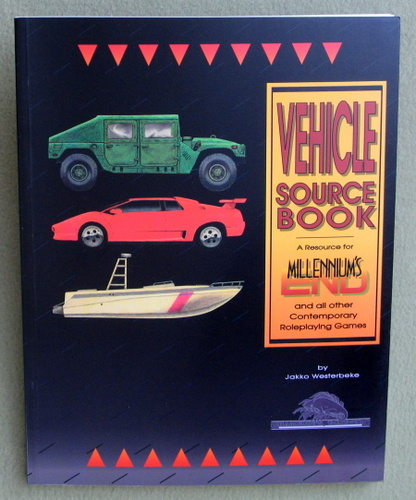 Vehicle Sourcebook (Millennium's End), Jakko Westerbrake