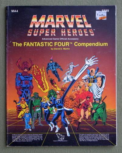 The Fantastic Four Compendium (Marvel Super Heroes Accessory MA4), David E. Martin