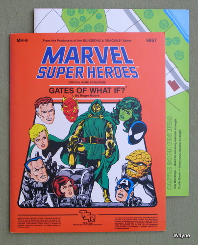 Gates of What If? (Marvel Super Heroes Module MH9), Roger Moore