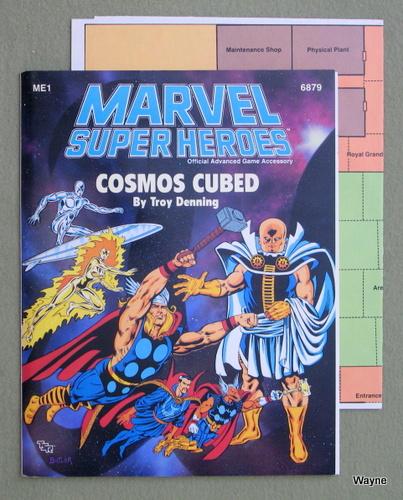 Cosmos Cubed (Marvel Super Heroes Module ME1), Troy Denning