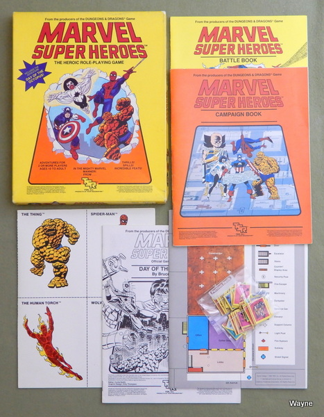 Marvel Super Heroes: The Heroic Roleplaying Game, Jeff Grubb & Steve Winter