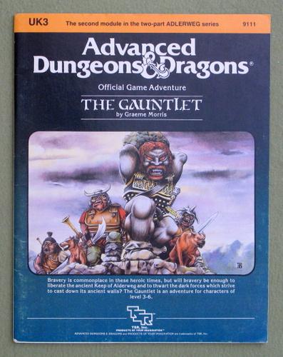 The Gauntlet (Advanced Dungeons & Dragons Module UK3), Graeme Morris