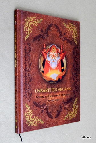 Unearthed Arcana (Premium 1st Edition Advanced Dungeons & Dragons), Gary Gygax