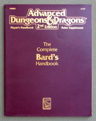 The Complete Bard's Handbook (AD&D 2nd Ed Rules Supplement), Blake Mobley
