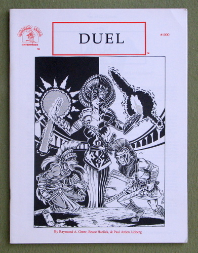 Duel: Role Playing Game, Paul Arden Lidberg & Raymond A. Greer
