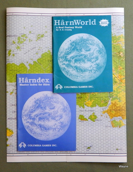 HarnWorld, 2nd Edition (Harn Fantasy Campaign Setting) - NO FOLDER