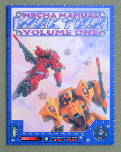 Mekton Mecha Manual, Volume One