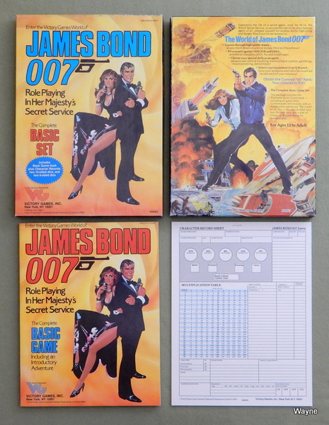 James Bond 007: Role Playing in Her Majesty's Secret Service (Basic Set)
