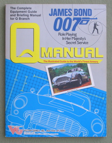 Q Manual (James Bond 007 role playing game)