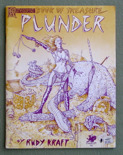 Plunder: Runequest Book of Treasure, Rudy Kraft