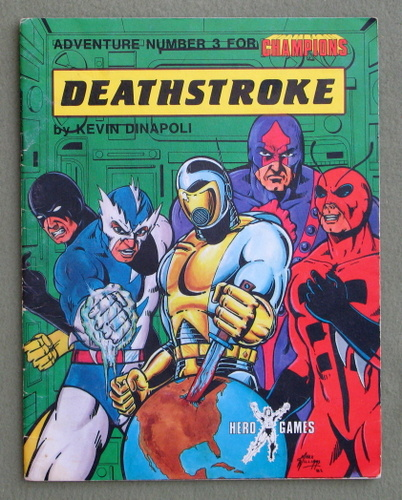 Deathstroke: Adventure Number 3 for Champions, Kevin Dinapoli