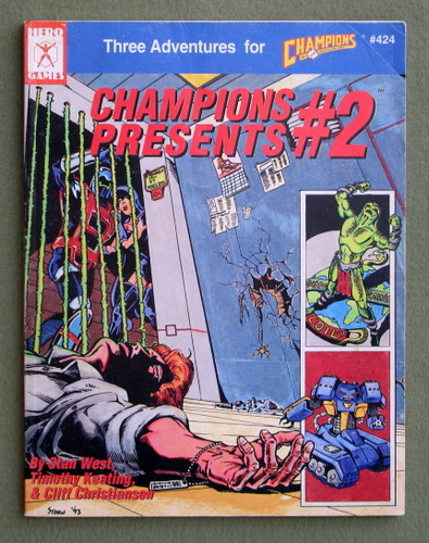Champions Presents #2: Three Adventures for Champions