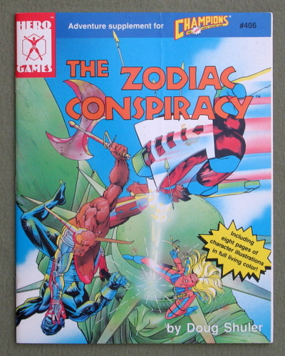 The Zodiac Conspiracy (Adventure Supplement for Champions), Doug Shuler