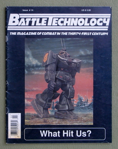 BattleTechnology Magazine, Issue 14 (Battletech)
