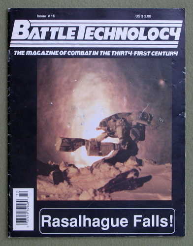 BattleTechnology Magazine, Issue 16 (Battletech)