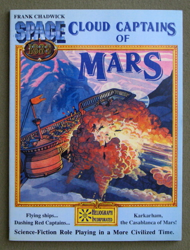 Cloud Captains of Mars & Conklin's Atlas of the Worlds (Space 1889 Sci-Fi Roleplaying), Frank Chadwick