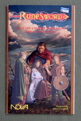 Hathor - Troll with Axe (Runesword Fantasy Combat Game Book), Alfred Leonardi