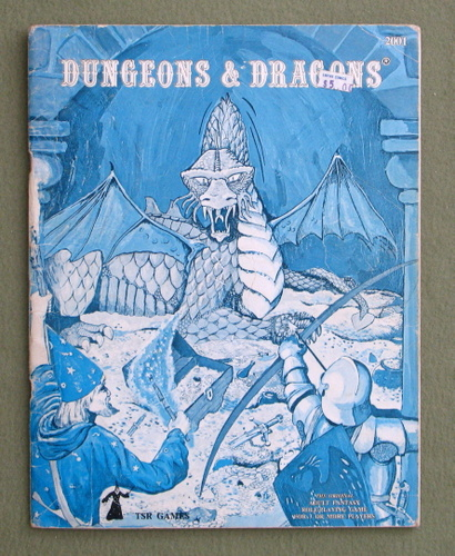Dungeons & Dragons (Classic Blue Book) - PLAY COPY, Gary Gygax & Dave Arneson & Eric Holmes